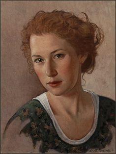 Scott Bartner, 'Hedwig', 12 x 16, Oil on Panel.
