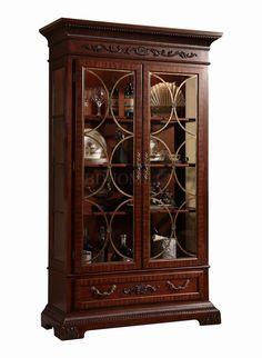 装饰柜 进口实木框架 B 0601-1 W1270*D457*H2134 mm