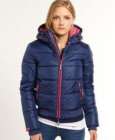 Superdry - Doudoune Polar Sports - Vestes et manteaux pour Femme