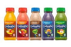 Odwalla Redesigned on Packaging of the World - Creative Package Design Gallery