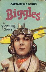 I own the original artwork for this Biggles card game! Books For Boys, Childrens Books, My Books, Air Space, Space Crafts, Old Boys, My Childhood, Card Games, Original Artwork