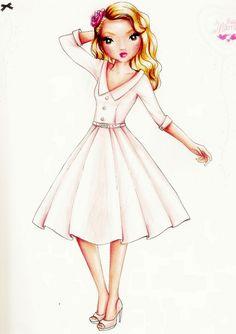dresses drawings   TOPmodel drawing rainbow dress by ... on Top Model Ideas  id=77642