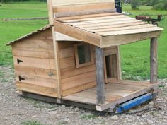 Pallet Goat Pen At Ferncliff Camp Creative Use Of