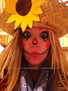 scarecrow costume - Google Search #Halloween