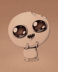Illustration by Marija Tiurina Arte Horror, Horror Art, Scary Characters, Character Art, Character Design, Creepy Dolls, Pop Surrealism, Poster Prints, Art Prints