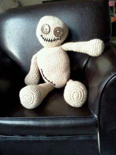 Crochet Amigurumi VooDoo Doll