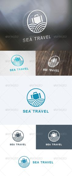 Sea Travel  - Logo Design Template Vector #logotype Download it here: http://graphicriver.net/item/sea-travel-logo/5690207?s_rank=1397?ref=nexion