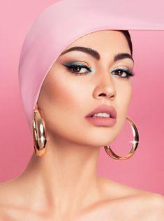 Keisi Miziou #gntm #Greece #nexttopmodel #keisi #miziou #keisimiziou #fashion #2019 #topmodel #art #pink #pinkalert #karapanou #makeup #mua #photo #winner #onlypink #top #halfgood #kexagias #pic #κειση Greek Tv Show, Next Top Model, Beauty Editorial, Hoop Earrings, Photo And Video, Makeup, Face, Greece, Pink