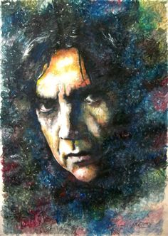 """""""Pappo"""" Norberto Napolitano - Blues - Rock and roll - mixed media - 28x40 inches - Original art by Marcelo Neira"""