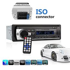 Car Stereo with Bluetooth, Ewalite Universal In-Dash Single Din Car Radio Receiver MP3 Player / USB / SD Card / AUX / FM Radio with Remote Control. For product info go to:  https://www.caraccessoriesonlinemarket.com/car-stereo-with-bluetooth-ewalite-universal-in-dash-single-din-car-radio-receiver-mp3-player-usb-sd-card-aux-fm-radio-with-remote-control/