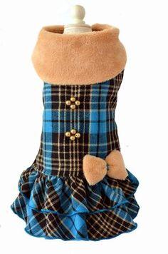 Lindo vestido para perritas coquetas, ideal para las temporadas de otoño invierno. www.toutmignon.net
