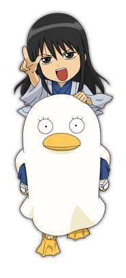 Katsura y Elizabeth Chibi - Gintama by TheFanGintama