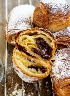 Sourdough Pain au Chocolat Natural Yeast Recipe, Dough Ingredients, Flaky Pastry, Sourdough Recipes, Egg Wash, Chocolate Croissants, Fall Recipes, Easy Meals, Pain Au Chocolat