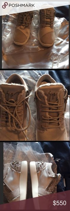 Authentic Giuseppe Zanotti Women sneakers Brand new, never been worn, comes with dust bag and does not come with a box Giuseppe Zanotti Shoes Sneakers
