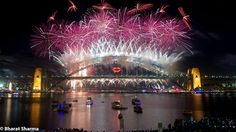 Sydney Harbour Bridge on New Year Evening - New Year's Eve Capital of the World || Photographs by Bharat Sharma and Ishita Johri | PHOTO JOURNEY