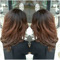 Ombre, color melt, auburn,  long hair,  hotd, hairstyles,  curls,  soft curls, wella, wella hair,  wella ed, wella life