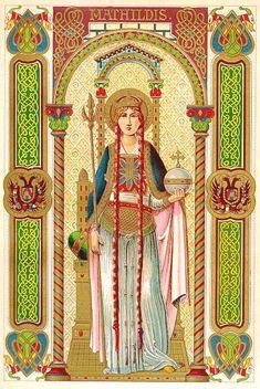 Santa Matilde, rainha da Prússia, 14 de março