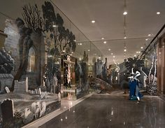 RACHEL FEINSTEIN - Installation View New York Lever House January 27 – April 2, 2011 - via Marianne Boesky