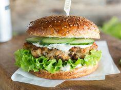 Scharfe Hähnchen-Burger