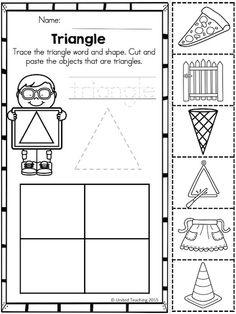 Shapes No Prep Worksheets