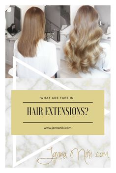 Tape in Hair Extensions at Bond Girl Hair in Toronto - I've had many different types of hair extensions over the years from tape ins, sew-ins, mirco-link to braidless sew-in. Hair Inspo, Hair Inspiration, Easy Hairstyles, Girl Hairstyles, Hair Extension Shop, Types Of Hair Extensions, Hair Hacks, Hair Tips, Glamorous Hair