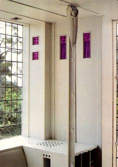 Detail from Hill House by Charles Rennie Mackintosh.  <3<3<3!