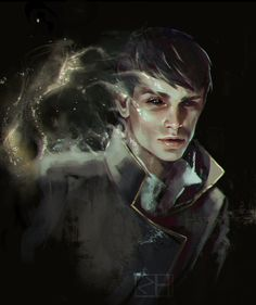 Dishonored, The Outsider by zhamada1 (@zhamada1 on Twitter)