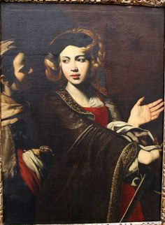 Salerno. Museo Diocesano, Giuditta, Francesco Guarino