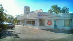 Route 66 diner, Albuquerque by Terriko, via Flickr