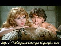 Hudba: Michel Magne Avec: Michele Mercier et Robert Hossein Hollywood Glamour, Classic Hollywood, Hollywood Stars, Michelle Mercier, Charles Bronson, Barry Gibb, Italian Actress, Star Wars, About Time Movie