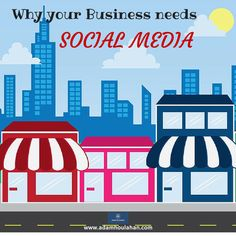 Wondering how SOCIAL MEDIA can help your Business? Here's some quick tips, visit www.adamhoulahan.com/blog #socialmedia #twitter #facebook  #linkedin #prosandcons