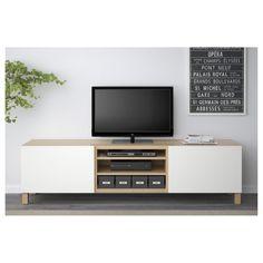 IKEA BESTÅ TV-benk med skuffer