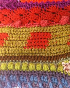 Beautiful 1970s #crochet #art from Susan Morrow