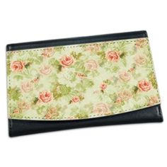 Zen and Chic Girly Gifts, Continental Wallet, Zen, Wallets, Peach, Chic, Floral, Bags, Fashion