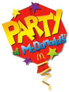 Kids Party Food McDonalds Buffet SWM Party Time Eats