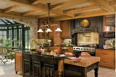 Big Kitchen Cabinets For Big Kitchen Island Teak Wood Kitchen Cabinets (My style)