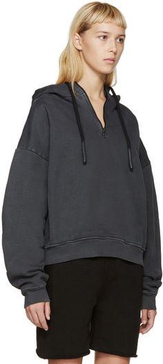 YEEZY Season 1 - Grey Half Zip Hoodie