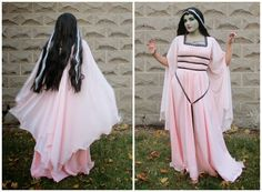 Just Another Crafting Blog: LILY MUNSTER: The Actual Costume Post