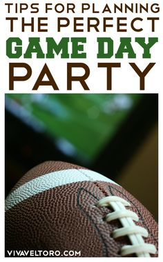 Tips to throwing a great Super Bowl party - plus a giveaway to help you with supplies!
