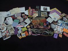Ephemera ATC  Kit 135 Pieces also Great for by KindredSpirit, $9.99