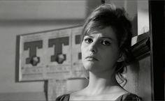 Claudia Cardinale in Girl with a Suitcase (La Ragazza con la Valigia).
