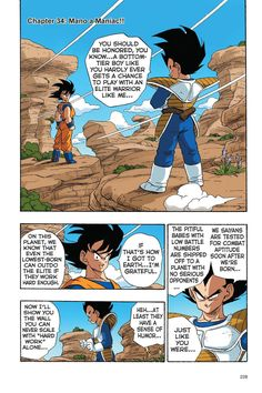Read Dragon Ball Full Color - Saiyan Arc Chapter 34 Page 1 Online For Free