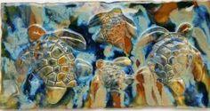 "Wall Art Turtle Design 8.5""x17.5"" MP56"