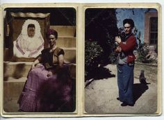 Frida Kahlo. Making traditional her own.