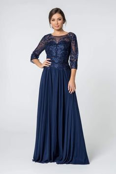 Mother Of The Bride Plus Size, Mother Of The Bride Gown, Mother Of Groom Dresses, Mothers Dresses, Mob Dresses, Formal Dresses For Women, Plus Size Dresses, Bridal Dresses, Blue Dresses