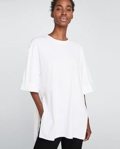 Image 2 of OVERSIZED T-SHIRT from Zara