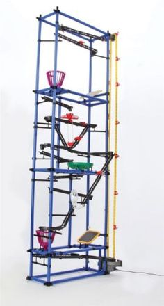 Chaos Tower Rube Goldberg Inspired Marble Run Science Toys, Science For Kids, Rube Goldberg Machine, Parents Choice, Perpetual Motion, Board Games For Kids, Natural Toys, Building For Kids, Building Toys
