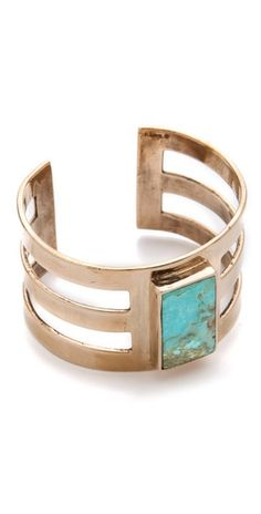 Pamela Love Inlay Cage Cuff.