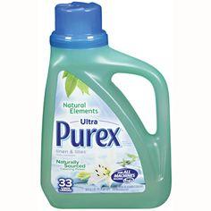 #mypurexfavorites...Purex Natural - linen & lilies
