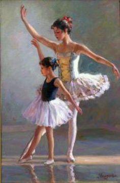 Dance Lesson-Vladislav Nagornov (1974, Russian)